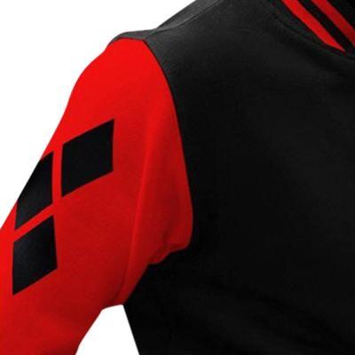 Suicide Squad Harley Quinn Jacke Cosplay Kostüm Hoodie Jacke für Erwachsene