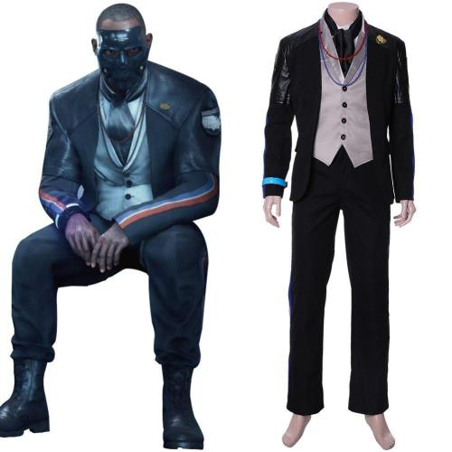 Death Stranding Die-Hardman John Blake McClane Kostüm Cosplay Kostüm