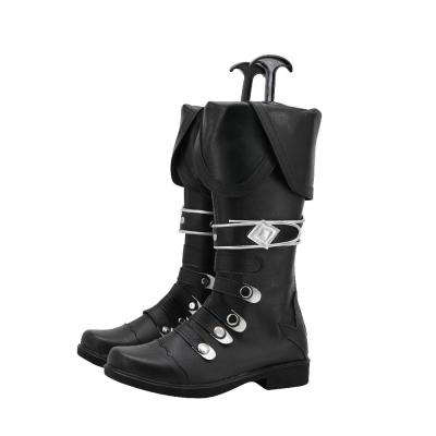 Genshin Impact Diluc Stiefel Cosplay Schuhe