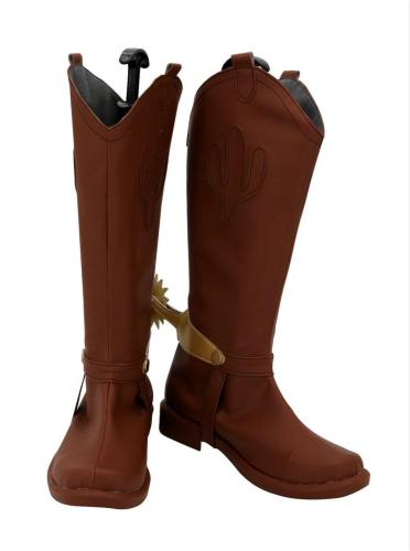 Disney Toy Story Cowboy-Sheriff Woody CosplaySchuhe Stiefel