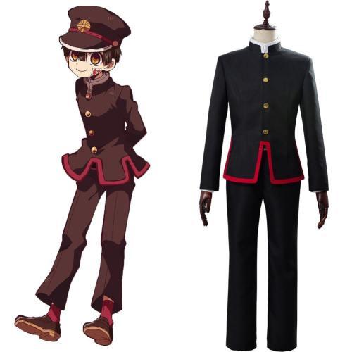 Toilet-Bound Hanako-kun Jibaku Shounen Cosplay Kostüm SET