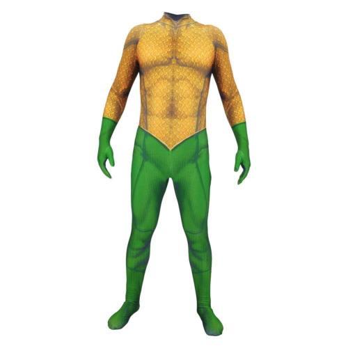 Aquaman DC Film Jumpsuit Cosplay Kostüm