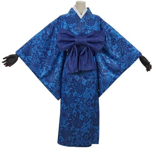 Demon Slayer Hashibira Inosuke Cosplay Kostüm Kimono Halloween Karneval Kostüm