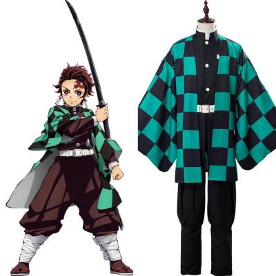 Demon Slayer: Kimetsu no Yaiba Tanjirou/Tanjiro Kamado Kostüm Set Cosplay