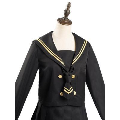 JK Japanische Uniform Schuluniform Mädchen Studentin Unform Matroseanzug Cosplay Kostüm