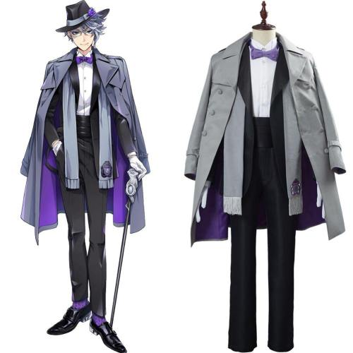 Game Twisted Wonderland Azul Ashengrotto Cosplay Kostüm Uniform Halloween Karneval Kostüm