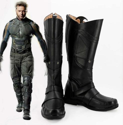 X-Men Logan Howlett Wolverine Stiefel Cosplay Schuhe