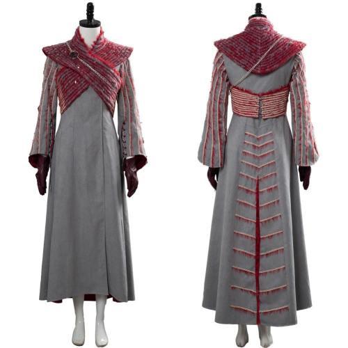 Game of Thrones 8 S8 Daenerys Targaryen Kleid Cosplay Kostüm Mantel