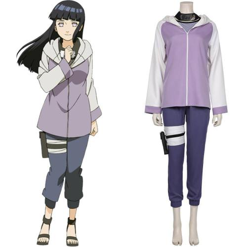 Hinata Hyuga Kostüm Naruto Hinata Hyuga Cosplay Halloween Karneval Kostüm Set