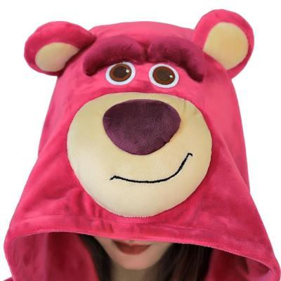 Toy Story 3 Lotso Knuddelbär Cosplay Pajama Erwachsene Pyjamas Schlafanzug für Alltag