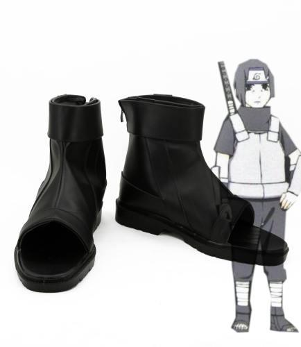 Naruto Akatsuki Uchiha Itachi Schuhe Cosplay Schuhe