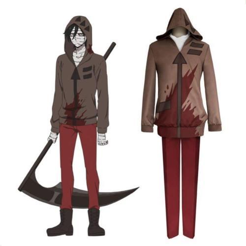 Anime Angels of Death Satsuriku no Tenshi Isaac FOSTER Cosplay Kostüm