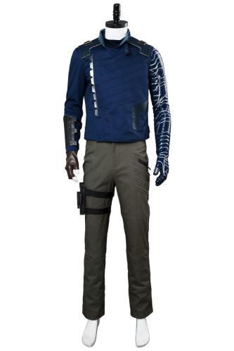 Avengers: Infinity War Winter Soldier Bucky Barnes Cosplay Kostüm Neu Version