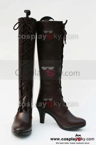 Black Butler Grell Cosplay Stiefel Schuhe