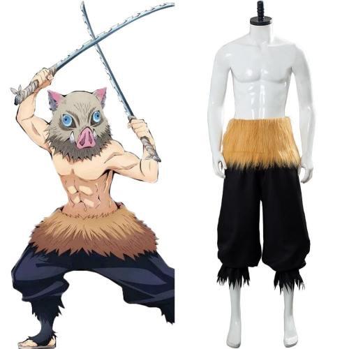 Inosuke Hashibira Kimetsu no Yaiba Demon Slayer Inosuke Hose Cosplay Kostüm