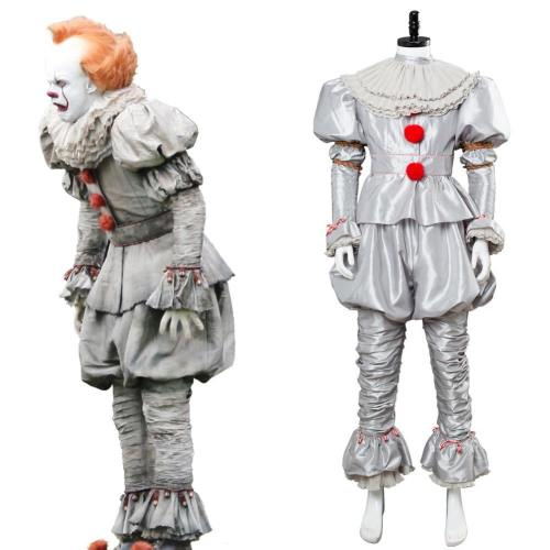Es: Kapitel 2 Film 2019 Horrorclown Pennywise The Clown Outfit Cosplay Kostüm NEU Version
