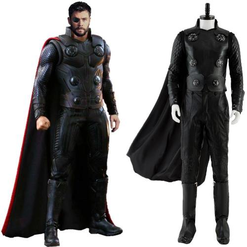The Avengers 3 III Infinity War Thor Cosplay Kostüm Neu Version