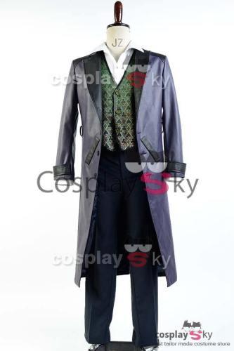 Batman Arkham Origins Blackgate Joker Outfit Cosplay Kostüme