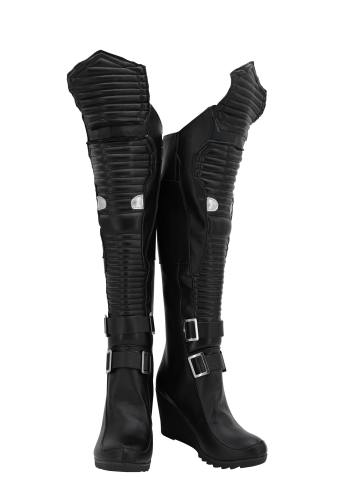 Cyberpunk 2077 Stiefel Cosplay Schuhe
