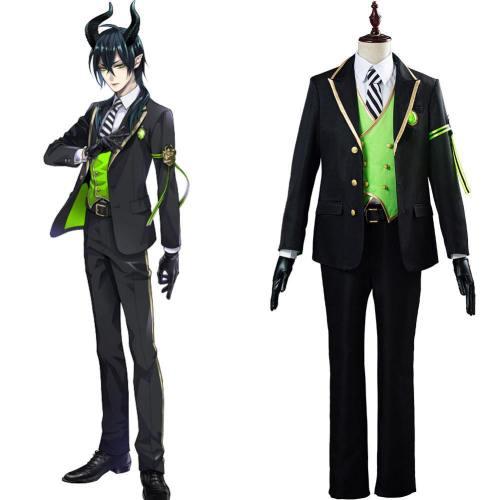 Twisted-Wonderland Malleus/Sebek/Silver Cosplay Kostüm Uniform Outfits Halloween Karneval Kostüm