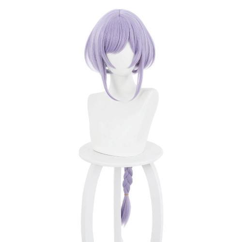 Genshin impact QiQi Perücke Cosplay Perücke lila