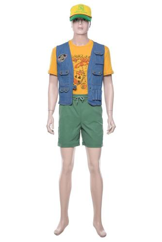 Stranger Things 3 Dustin Henderson Kostüm Cosplay Kostüm Set