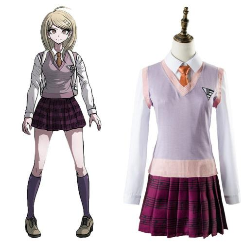 Danganronpa 3 Akamatsu kaede Outfit Kleid Cosplay Kostüm