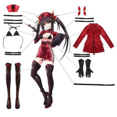 Anime Date A Bullet Tokisaki Kurumi Cosplay Kostüm Krankenschwester Uniforme Halloween Karneval Outfits