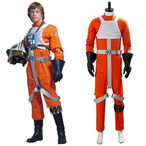 Star Wars X-Wing Rebel Pilot Pilotenuniform Jumpsuit Cosplay Kostüm