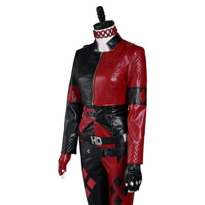 Suicide Squad 2 Harley Quinn Kostüm Halloween Karneval Outfits Set