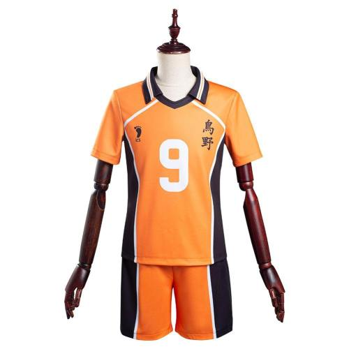 Haikyuu Tobio Kageyama Karasuno High Nummer 9 Schuluniform Cosplay Kostüm T-shirt Uniform