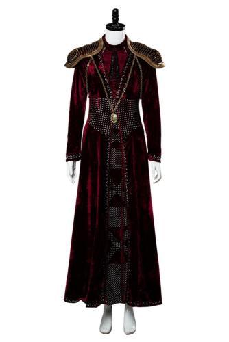 GOT8 Game of Thrones Staffel 8 Cersei Lannister Cersei Baratheon Kostüm Version C Rot Kleid Delux
