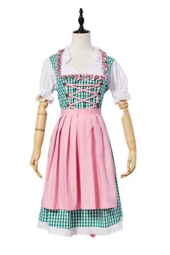 Oktoberfest Damen Dirndl festliche Kostüm Größe 34-40