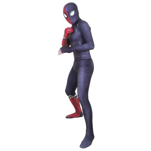 Spider Man Far From Home Peter Parker Jumpsuit Erwachsene Faschingkostüme Halloween Karneval