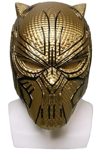 Marvel Black Panther supervillain Erik Killmonger Cosplay Maske Requisite Karneval Halloween