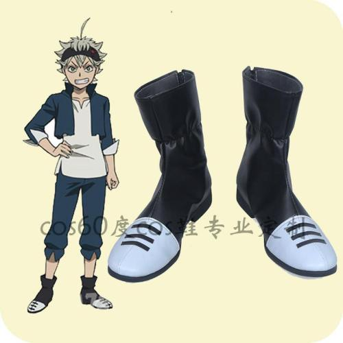 Black Clover Asta Cosplay Schuhe Stiefel