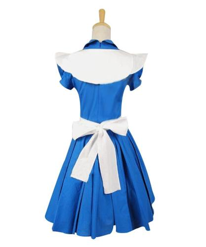 Alice In Wonderland Tim Burton Alice Kleid Cosplay Kostüm