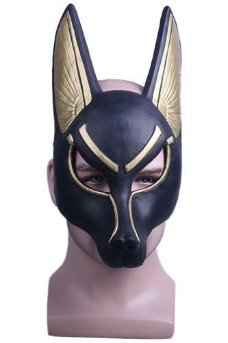 Egyptian Anubis PVC Cosplay Maske Wolf Schakal Maskerade Mottoparty Halloween Karneval