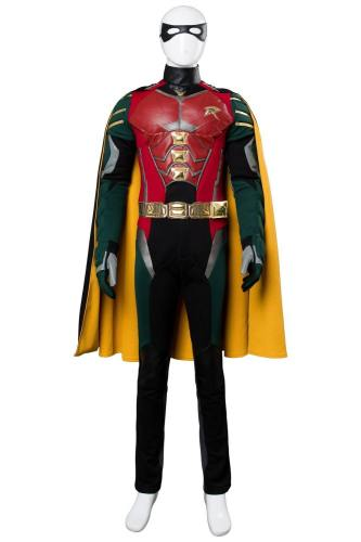 2018 Titans Richard Grayson Robin Cosplay Kostüm-