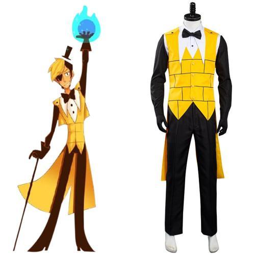 Gravity Falls Bill Cipher Kostüm Cosplay Halloween Karneval Kostüm