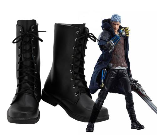 DMC5 Devil May Cry 5 Devil May Cry V Nero Stiefel Cosplay Schuhe