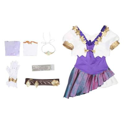 League of Legend LOL KDA The Baddest Seraphine Cosplay Kostüm Damen Outfits Halloween Karneval Kostüm Set