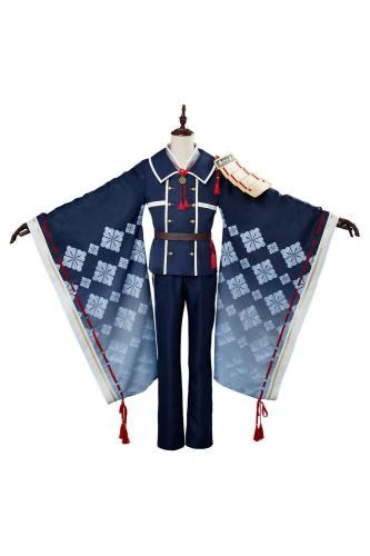 Touken Ranbu Hakusan Yoshimitsu Uniform Cosplay Kostüm