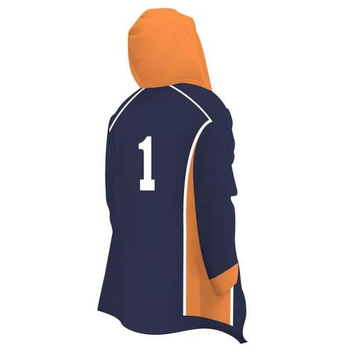 Haikyuu!! Volleyball!! Haikyuu Karasuno High School Nummer 1/10 Jacke mit Kaputze