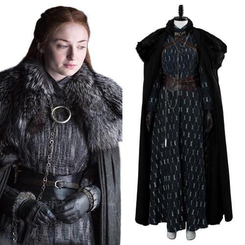 Game of Thrones 8 Sansa Stark Cosplay Kostüm Version B