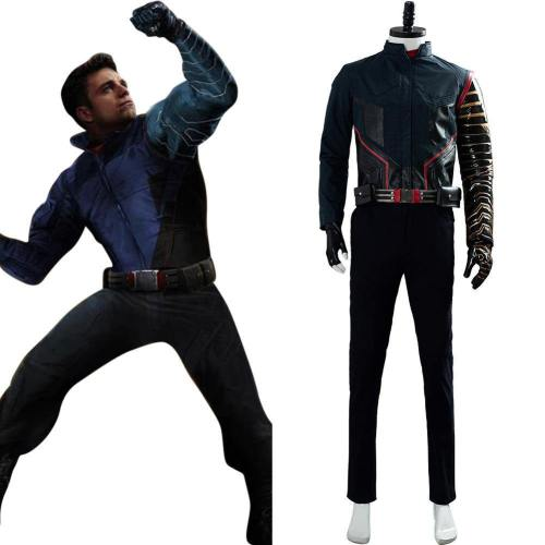 The Falcon and the Winter Soldier Buggy Cosplay Kostüm Film 2020 Battle Uniform