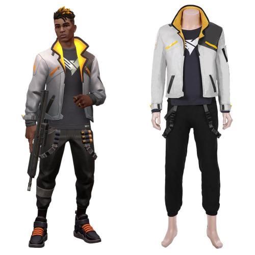 Valorant Duelist Phoenix Kostüm Cosplay Kostüm Suit Halloween Karneval Kostüm