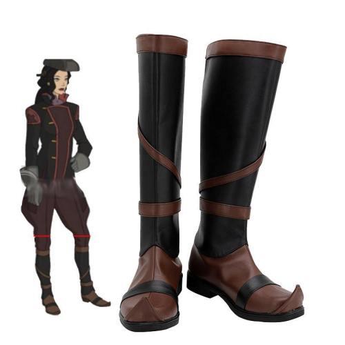 Asami Sato Schuhe The Legend of Korra Avatar Asami Sato Cosplay Schuhe