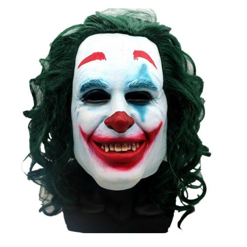 Batman Joker Dark knight Crown Maske Kopfbedeckung Cosplay Requsite Grün