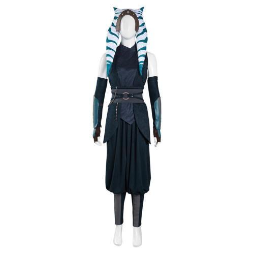 The Mandalorian 2 Ahsoka Tano Kostüm Halloween Karneval Outfits